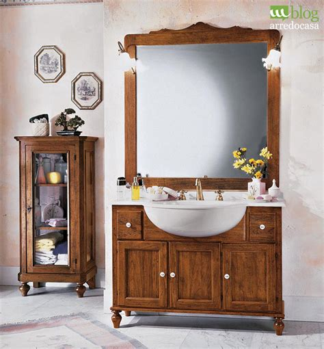 bagno country chic mobili country chic per una casa rustica m