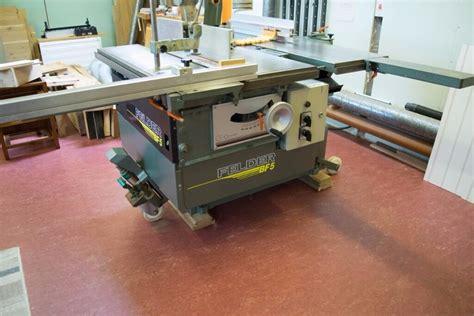 felder profesional combination woodworking machine