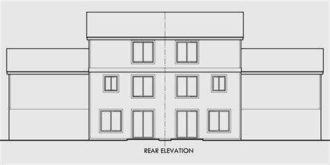 Duplex Floor Plans With 2 Car Garage by Duplex House Plans With Basement Duplex Plans With 2 Car