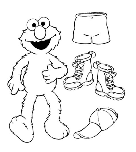 Sesame Street Elmo Coloring Pages Az Coloring Pages Sesame Coloring Pages