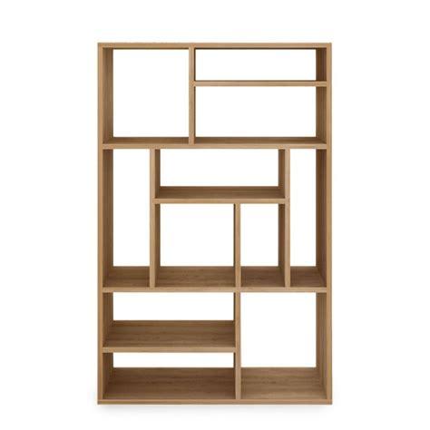 libreria bassa legno m libreria ethnicraft in legno diverse misure e