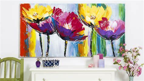 pittori di fiori dalani quadri moderni con fiori stile in casa