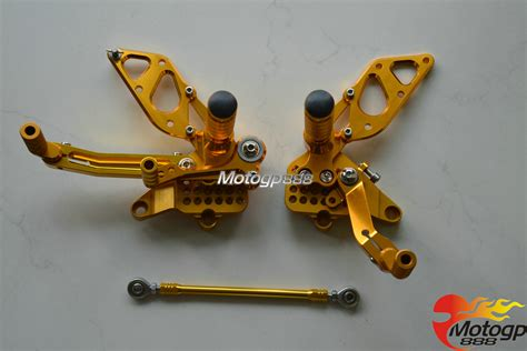packing pouch set kalibre 994054 999 original cnc adjustable rearset foot pegs rear set for ducati 749
