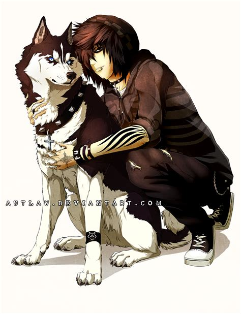 anime dogs a and his by autlaw on deviantart