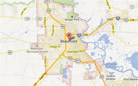 beaumont texas map beaumont tx the daytripper