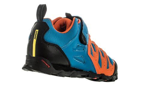 chaussures vtt mavic crossride elite 2016 bleu orange alltricks fr