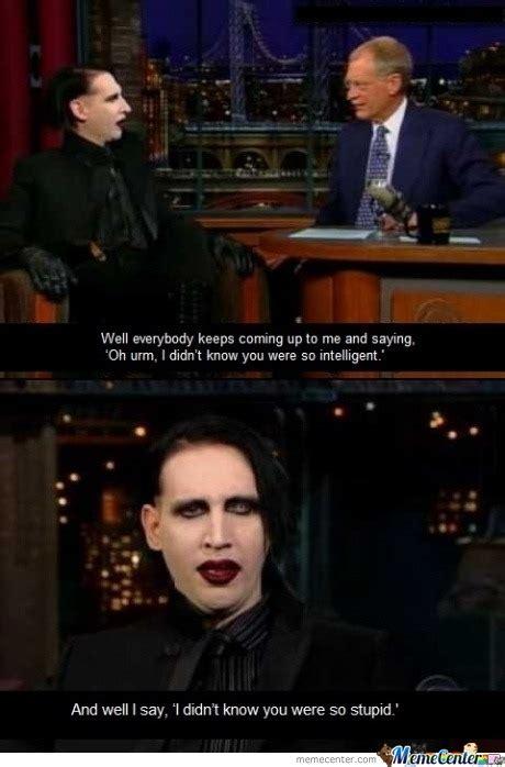 Marilyn Manson Meme - marilyn manson by leatherbut meme center
