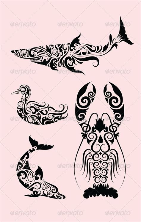 flourish tattoo designs 191 best images about vectors on