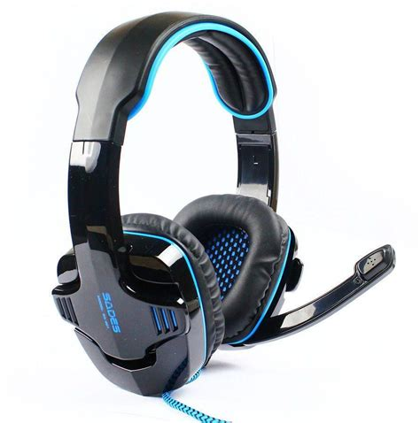Sades Spirit Wolf 35usb Microphone Headphone Gaming Headset Aleesh Sades Spirit Wolf Gaming Headset With Microphone