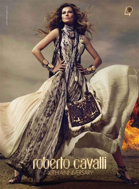 Models Booked For Fall 2008 Ad Caigns by Gisele Bundchen Roberto Cavalli 40th Anniversary Caign