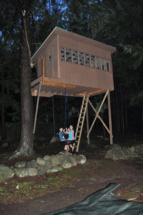 swing house treehouse tire swing liberty hill house