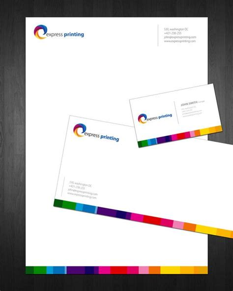 business card letterhead inspiration 17 best ideas about letterhead design on