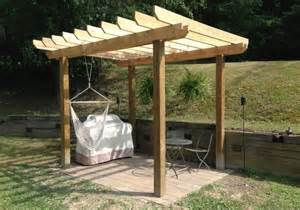 Constructing A Pergola by How To Build A Pergola Coreyms