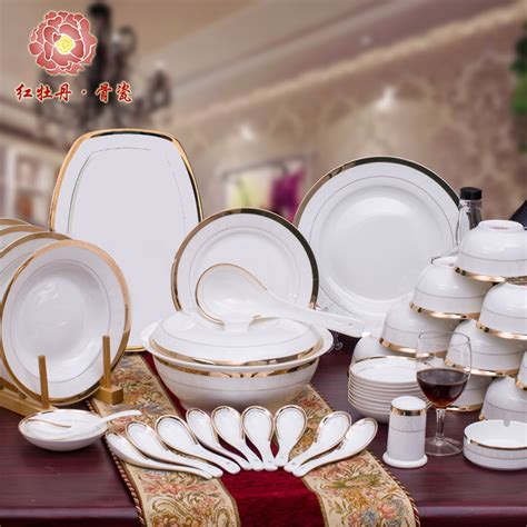 7 Cool Dinner Sets by Pretty China Crockery Luxury Fashion Dinnerware Set