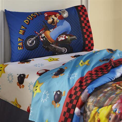 nintendo comforter nintendo super mario twin sheet set