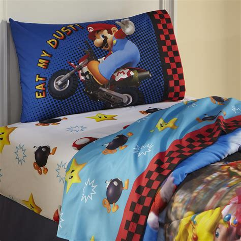 Nintendo Bedding Set Nintendo Mario Sheet Set