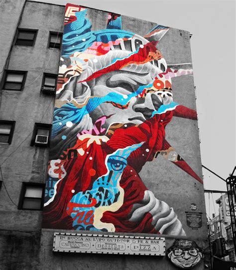 art design kalender new york street art murals by tristan eaton in usa street art