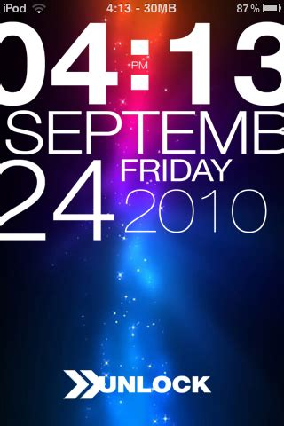 html lockscreen themes typophone 4 lockscreen theme the ipod touch weblog