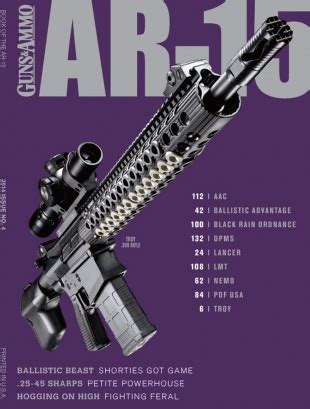 guns ammo guide to ar 15s a comprehensive guide to black guns books book of the ar 15 outdoor sportsman