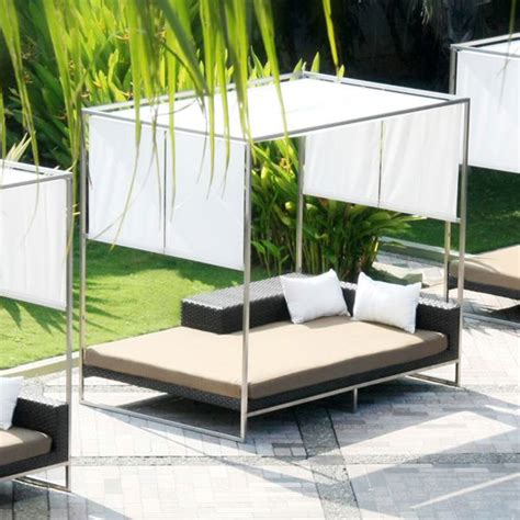 luxury outdoor lounge bed with canopy 232011 patio discover paradise found daybeds were made for daydreams