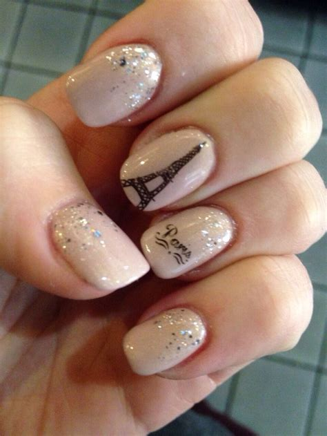 new year nail diy best 25 eiffel tower nails ideas on