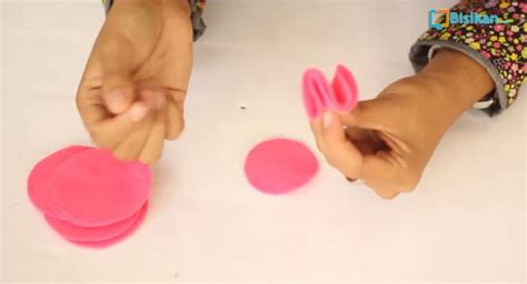 cara membuat kentang goreng dari flanel cara membuat bros bunga mutiara dari kain flanel