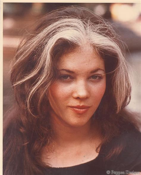 grey streaks in hair woman with mallen streak nyc 1971 from http www