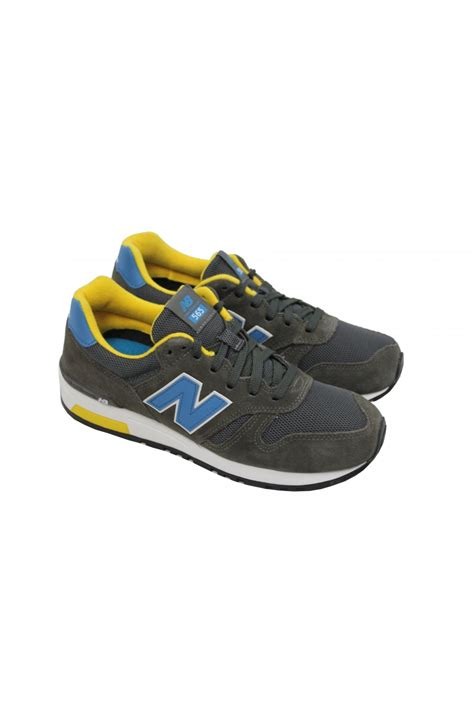 New Balance Ml565snr new balance ml565snr trainers suede pack grey blue