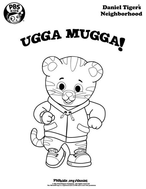 daniel tiger coloring pages katerina coloring home