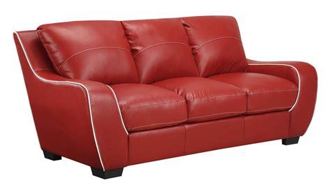 red vinyl sofa global furniture usa 8080 sofa set red white bonded