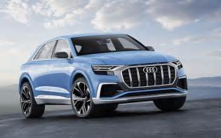 Audi Suv Photos Audi Q8 Hybrid Suv Concept Unveiled At Detroit Show
