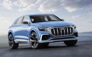 Suv Concept Audi Q8 Hybrid Suv Concept Unveiled At Detroit Show