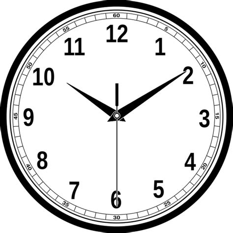 Jam Dinding Coffee Time clock time hour 183 free vector graphic on pixabay