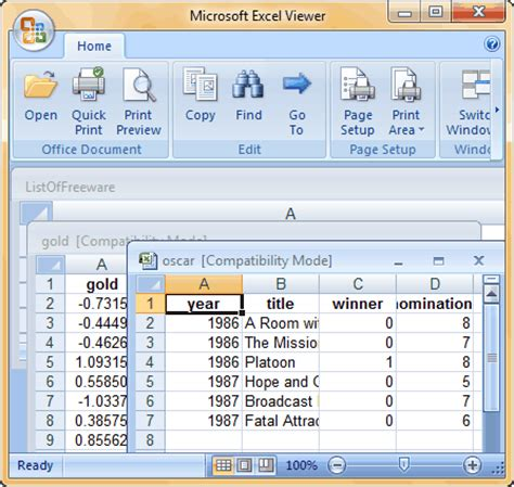 18 best free excel viewer software for windows