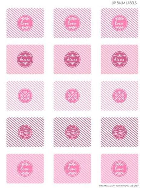 chapstick label template s lip balm printable label design label templates s day labels