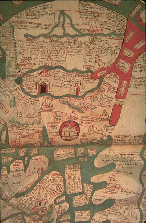 ranulf higdens world map  polychronicon oval