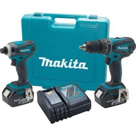 makita 18 volt lxt lithium ion combo kit 2 tool lxt211