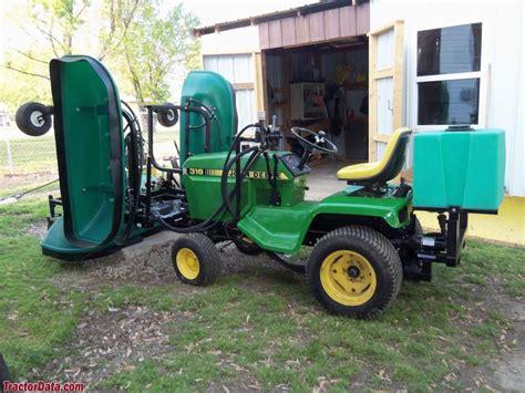 Skidder Minnie tractordata deere 316 tractor photos information