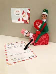 cheap santa letter free printable u on the shelf with