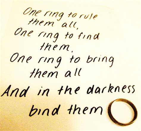 one rule one ring to rule them all by smiley happy people on deviantart