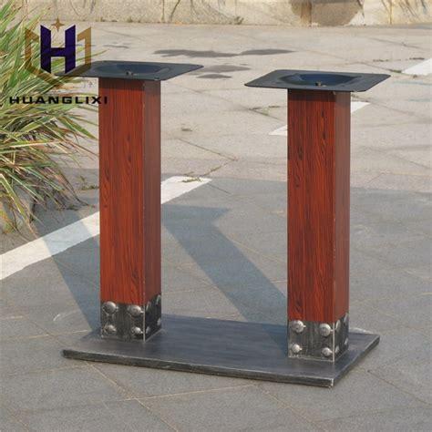 piedi per tavolo unico metallo quadrato tavolo da pranzo gambe piedi per