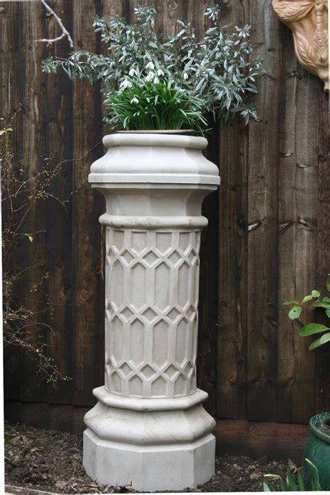 Chimney Planter by Limestone Chimney Pot Planters