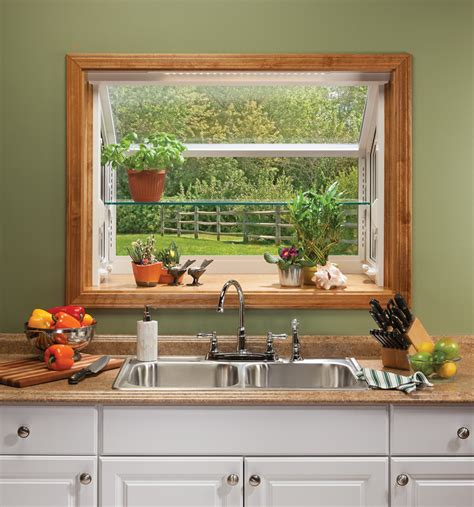 kitchen window garden garden windows for kitchens upgrading the outlook right