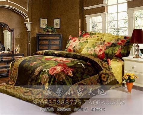 floral comforter sets king size yellow green floral flower vintage bedding comforter set