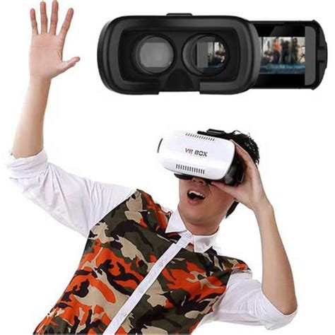 Vr Box Smartphone 3d Reality Glasses vr box smartphone 3d reality shopping24bd