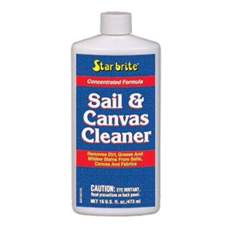 boat canvas supplies starbrite sail canvas cleaner 177612 cleaning
