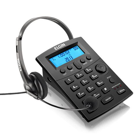 telefonista da casa conjunto para telefonista headset hst 8000 elgin
