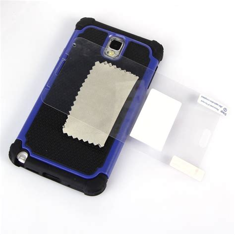 note 3 rugged for samsung galaxy note 3 iii n9000 new rugged shockproof hybrid cover ebay
