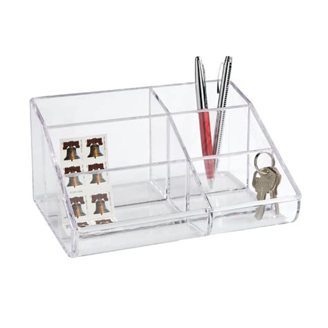 Acrylic Desk Organizers Office Supplies School Supplies Business Supplies The Container