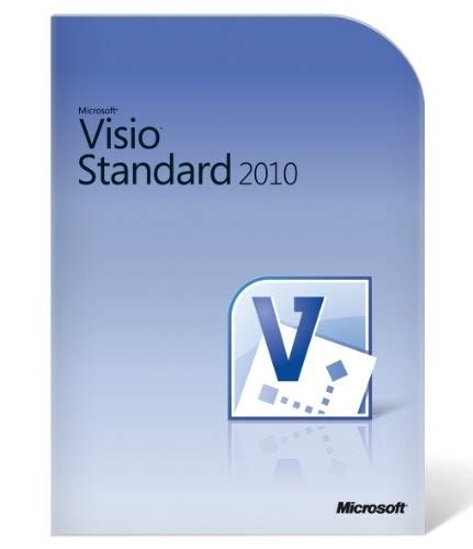 ms visio standard microsoft visio standard 2010 box software usa